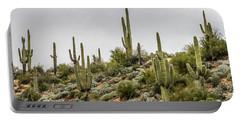 Saguaro Cactus  Portable Battery Charger