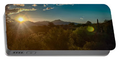 Portable Battery Charger featuring the photograph Saguaro National Park by Dan McManus