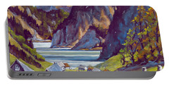Saguenay Summer By Prankearts Portable Battery Charger