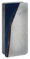 Portable Battery Charger featuring the photograph Sail Away With Me by Photographic Arts And Design Studio