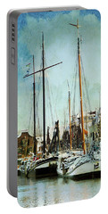 Sailboats Portable Battery Charger