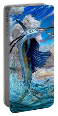 Sailfish And Flying Fish Portable Battery Charger