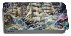 Sailing Among The Stars Portable Battery Charger