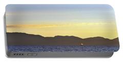 Sailing At Sunset - Lake Tahoe Portable Battery Charger