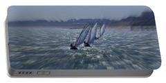 Sailing Boats Racing Portable Battery Charger