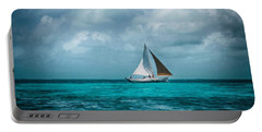 Sailing In Blue Belize Portable Battery Charger