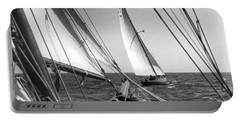 Sailing In Los Angeles Regatta Portable Battery Charger