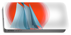 Sailing Red Sun Portable Battery Charger