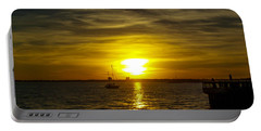 Sailing The Sunset Portable Battery Charger