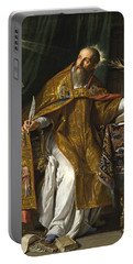 Saint Augustine Portable Battery Charger