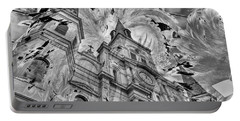 Portable Battery Charger featuring the photograph Saint Louis Cathedral And Spirits by Ron White