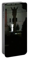Saint Louis Cathedral Courtyard - New Orleans La Portable Battery Charger