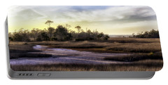 Saint Marks Wetland Sunset Portable Battery Charger