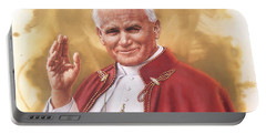 Saint Pope John Paul II Portable Battery Charger