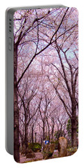Portable Battery Charger featuring the photograph Sakura Tree by Andrea Anderegg