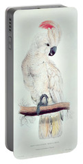 Salmon Crested Cockatoo Portable Battery Charger