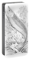 Salmon Portable Battery Charger