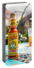 Salsa Caliente Portable Battery Charger by Sennie Pierson