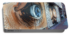 Portable Battery Charger featuring the photograph Salt Lake City - Mural 1 by Ely Arsha