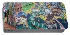 Portable Battery Charger featuring the photograph Salt Lake City - Mural 2 by Ely Arsha