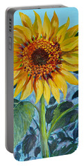 Salute The Sun Portable Battery Charger by Susan Duda