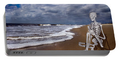 Sam Looks To The Ocean Portable Battery Charger