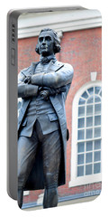Samuel Adams Statue Massachusetts State House Portable Battery Charger
