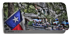 San Antonio Flag Portable Battery Charger