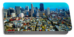 San Fran Colors Portable Battery Charger