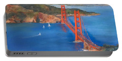 San Francisco Bay Bridge Portable Battery Charger