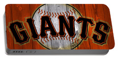 San Francisco Giants Barn Door Portable Battery Charger