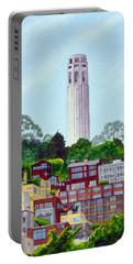 San Francisco's Coit Tower Portable Battery Charger