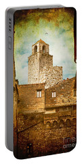 San Gimignano Italy Portable Battery Charger