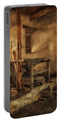 San Jose Mission Mill Portable Battery Charger by Priscilla Burgers