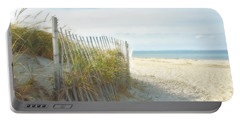 Sand Beach Ocean And Dunes Portable Battery Charger