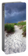 Sand Dune Under Storm Portable Battery Charger
