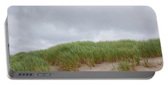 Sand Dunes And Grass Portable Battery Charger