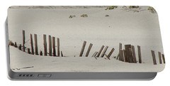 Sand Dunes At Gulf Shores Portable Battery Charger