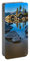 Sand Harbor Ripples Portable Battery Charger