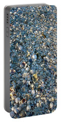 Portable Battery Charger featuring the photograph Sand Key Shells by David Nicholls