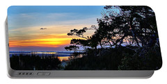 Sand Lake Sunset Portable Battery Charger