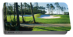 Sand Trap In A Golf Course, Regatta Bay Portable Battery Charger