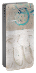 Sandcastles- Abstract Painting Portable Battery Charger