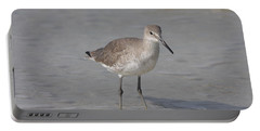 Sandpiper Portable Battery Charger by Christiane Schulze Art And Photography