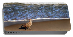 Sandpiper At Ortley Beach, Nj Portable Battery Charger