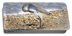 Sandpiper Portable Battery Charger by Betsy Knapp