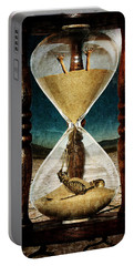 Sands Of Time ... Memento Mori  Portable Battery Charger