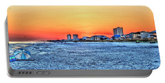Sandy Sunset Portable Battery Charger