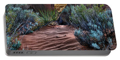 Sandy Trail Arches National Park Portable Battery Charger