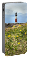 Sankaty Lighthouse Nantucket Portable Battery Charger
